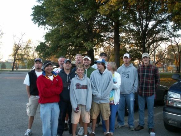 TDSA members on a dg road trip