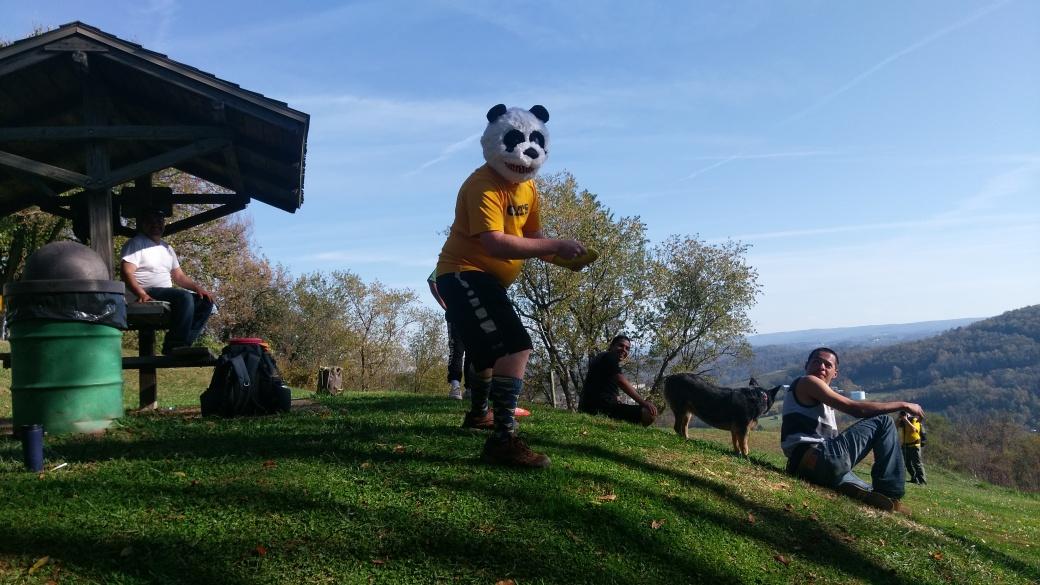 Disc golf panda