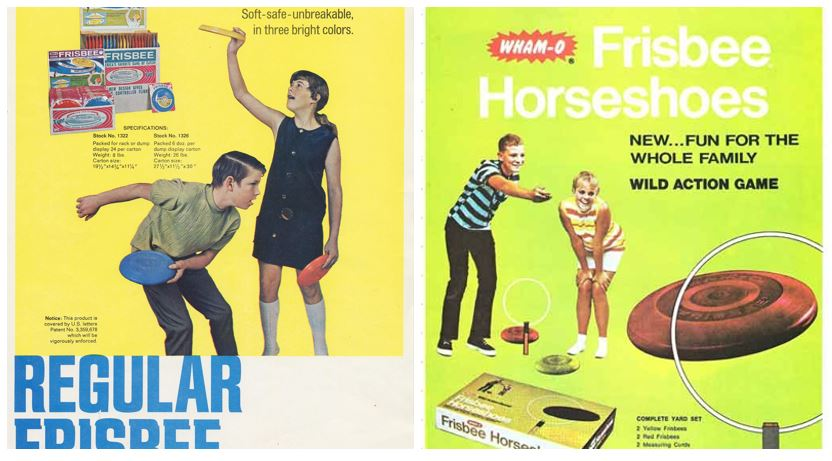 Frisbee Advertisements